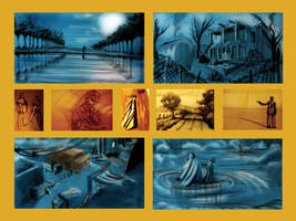 Length feature Film Storyboard by ludvicvan