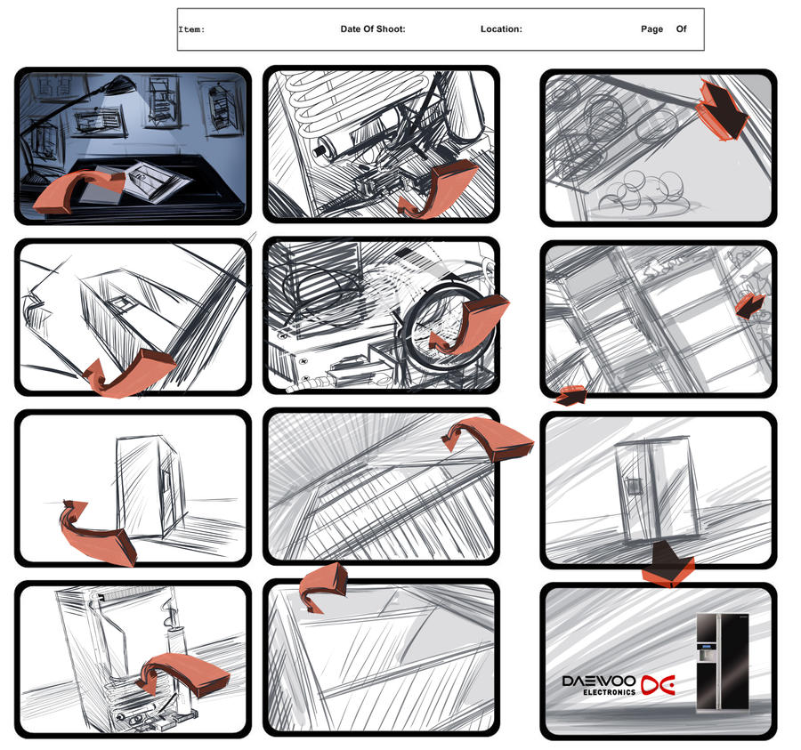 Tv Commercial Storyboard By Ludvicvan On Deviantart