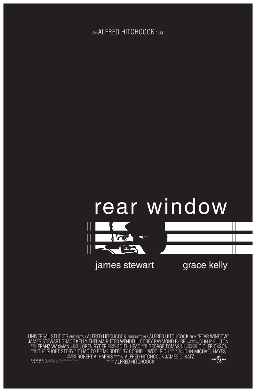 'Rear Window' Movie Poster by Tahimek