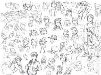 Lux Sketch Dump by Nickenings