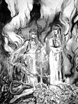 The Norns and their thread