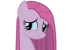 Pinkamena smile by Vexorb