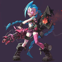 Jinx by Saindoo