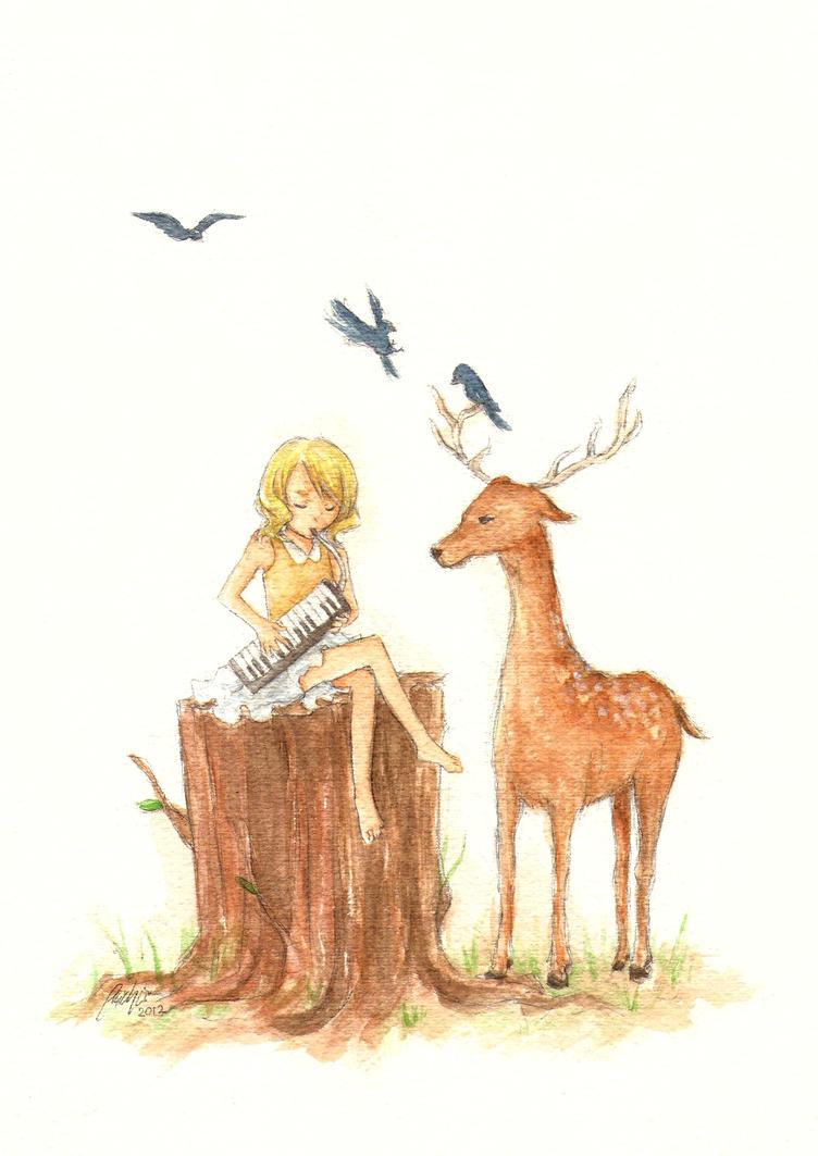 Melodica by emichii