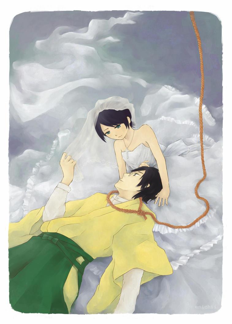 Farewell, Mr Despair by emichii
