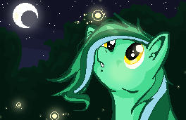 Laffy's Night Sky (gif) by Neila078
