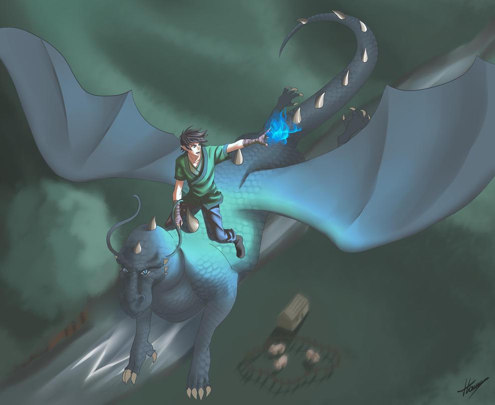 Brisingr-Eragon y Saphira