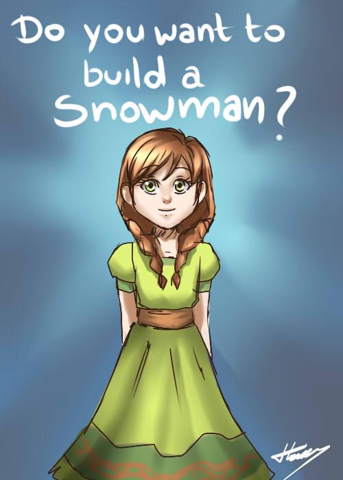Do you want to build a snowman by jojoasakura manga do you want to