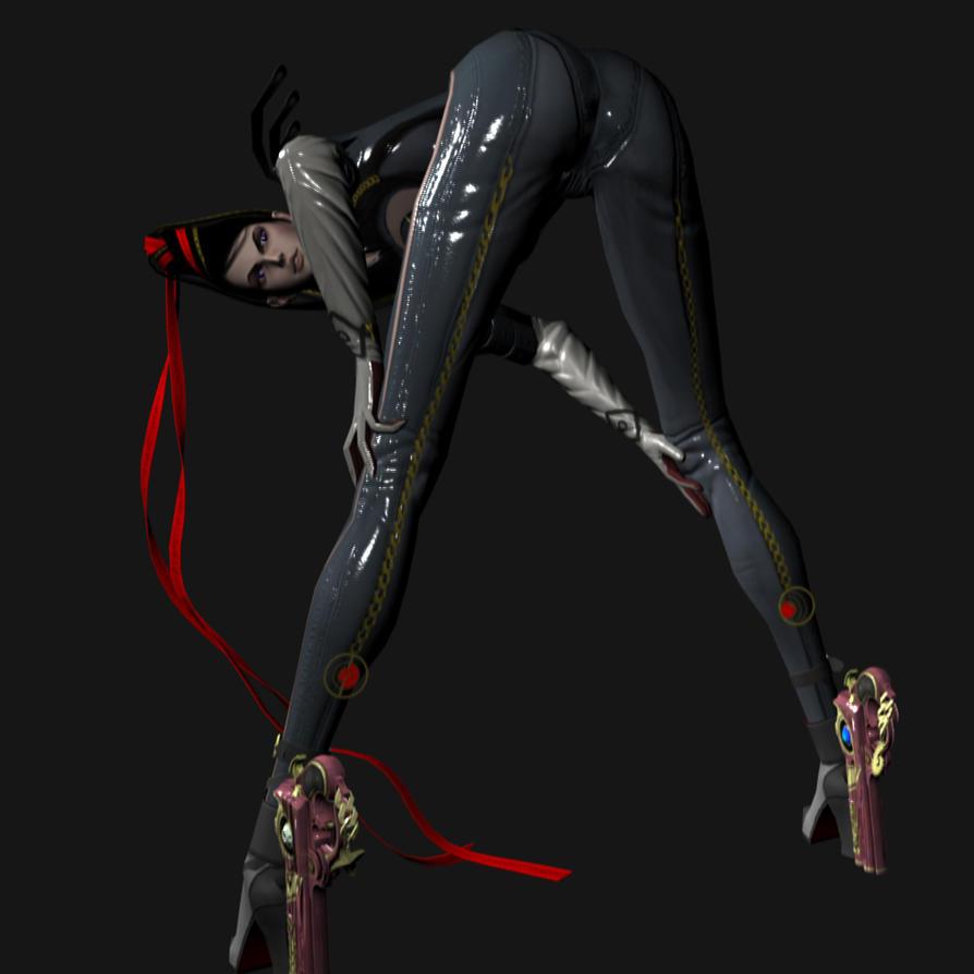 Bayonetta booty xxx scene