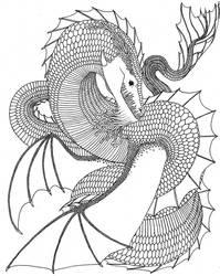 Sea Dragon by 20thcenturyvole