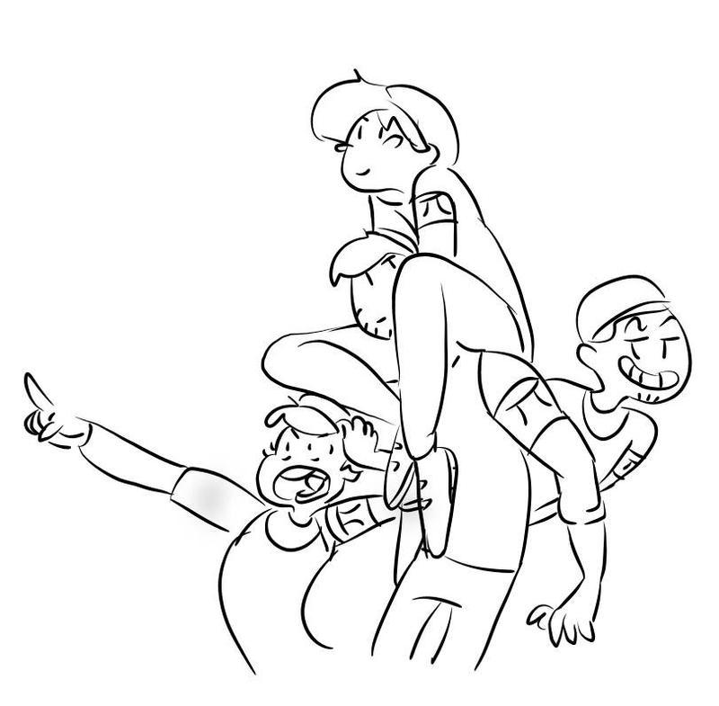 Draw da squad by RosieQueen13