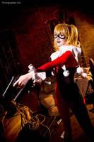 Batman - Harley Quinn by Mari-Evans