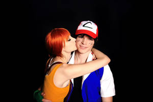 Pokemon - Misty and Ash by Mari-Evans