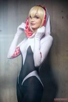 Marvel Comics - Spider-Gwen by Mari-Evans