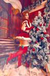 Evangelion - Christmas Asuka
