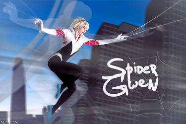 Marvel Comics - Spider-Gwen by Mari-Evans