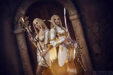 Lineage II - Light elf by Mari-Evans