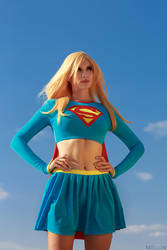 DC Comics - Supergirl by Mari-Evans