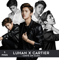 Luhan for Cartier PNG Pack by Bears-and-Cookies