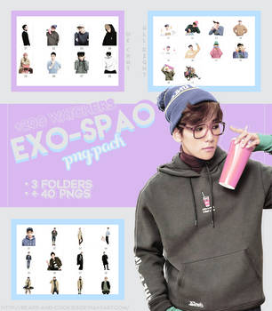 [+200 WATCHERS] EXO SPAO MEGA PNG PACK by Bears-and-Cookies