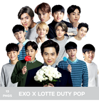 EXO for Lotte Duty Free Pop PNG PACK