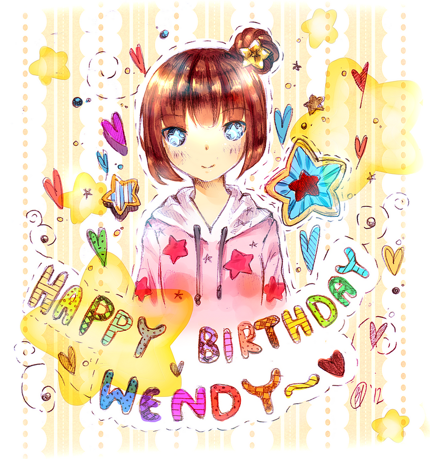 Happy Birthday Wendy by Yennineii