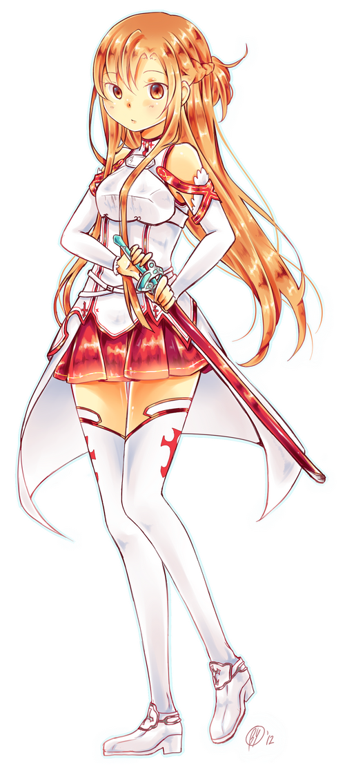 Asuna The Flash by Yennineii