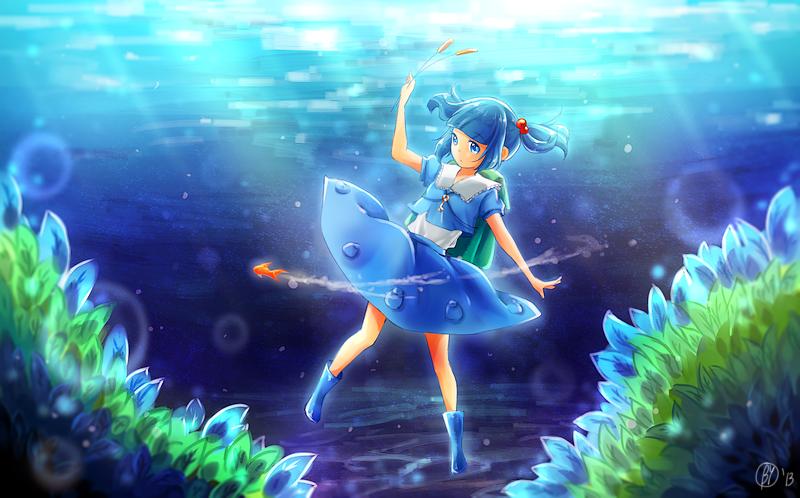 Silent Blue by Yennineii