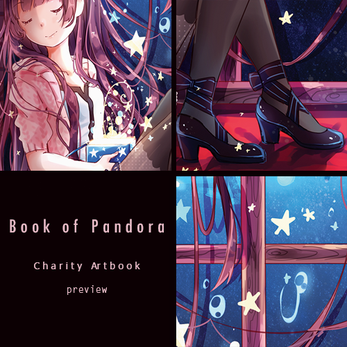 Book of Pandora: Preview by Yennineii