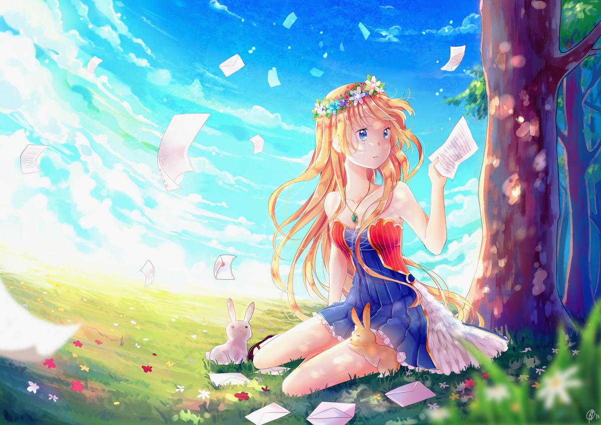 Aria by Yennineii