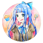 Stocking watercolor