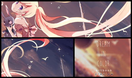 Dreamy Flight: Dream in Color Artbook Preview by Yennineii