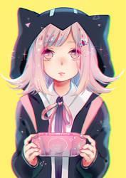 Chiaki Nanami by Yennineii