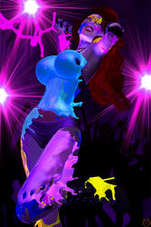 NEON DANCE by lordcoyote