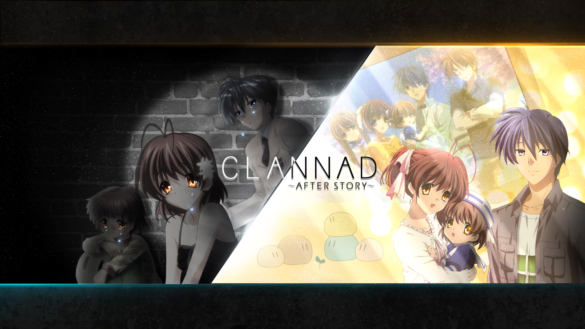 Wallpaper Clannad Sad And Happy Life By Adouken94 On Deviantart