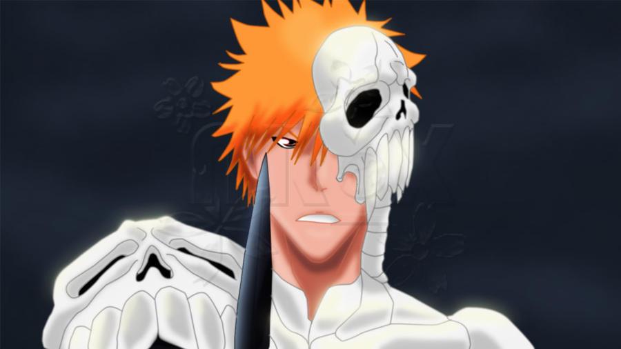 skull clad ichigo sprite by sorosoro on deviantart