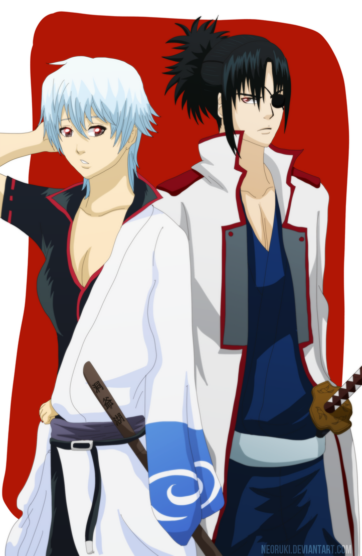 Gintoki and Kyubei GB by NeoRuki