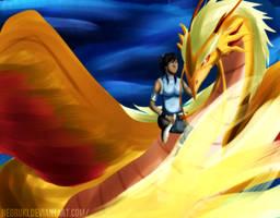 Golden DragonBird by NeoRuki