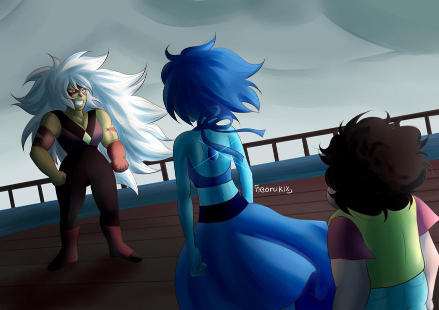 Jasper arrives by NeoRuki