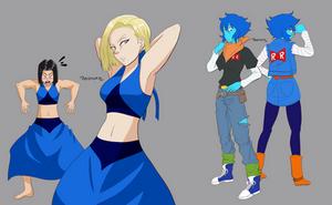 Lapis, Lazuli and Lapis Lazuli by NeoRuki