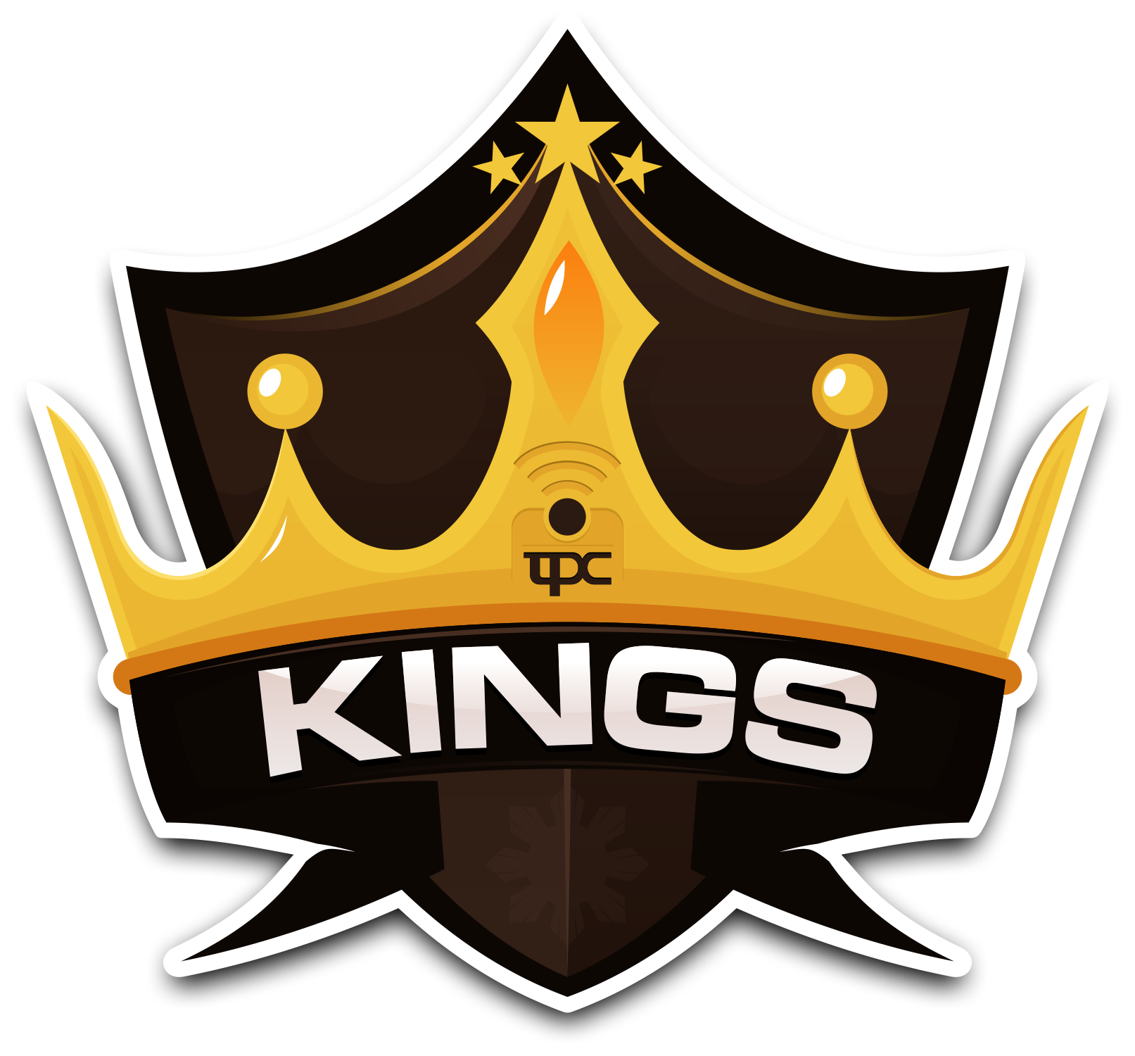 tpc kings logo dark background by shin of fire on deviantart king crown logo images king queen crown logo