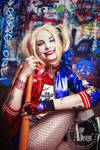 Harley Quinn cosplay shoot