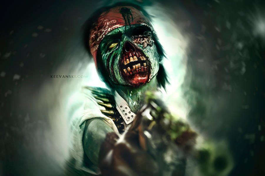 Undead Marston (Video Makeup FX)