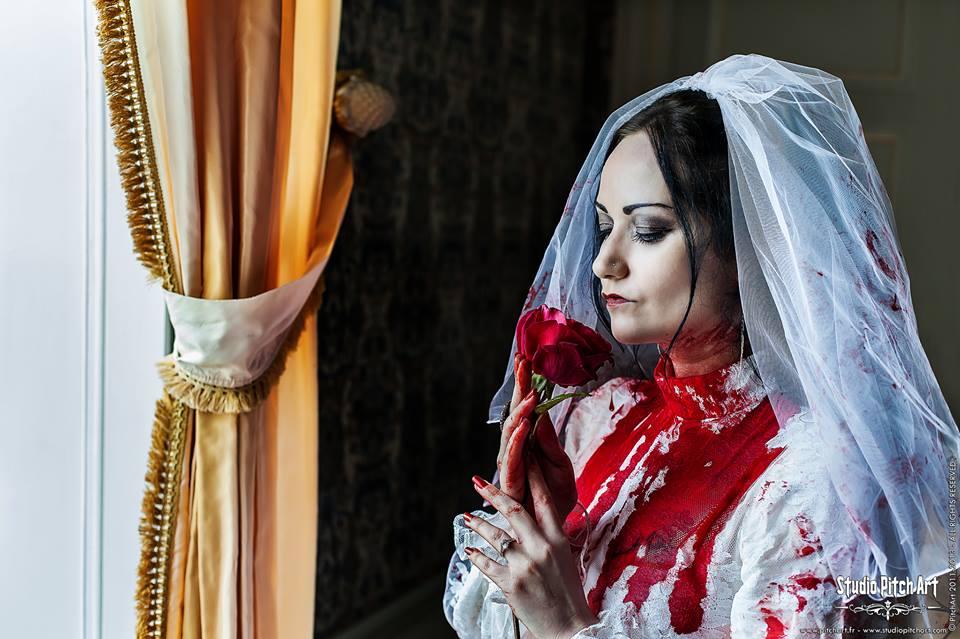 Bloody Bride by Eve-VelvetRose