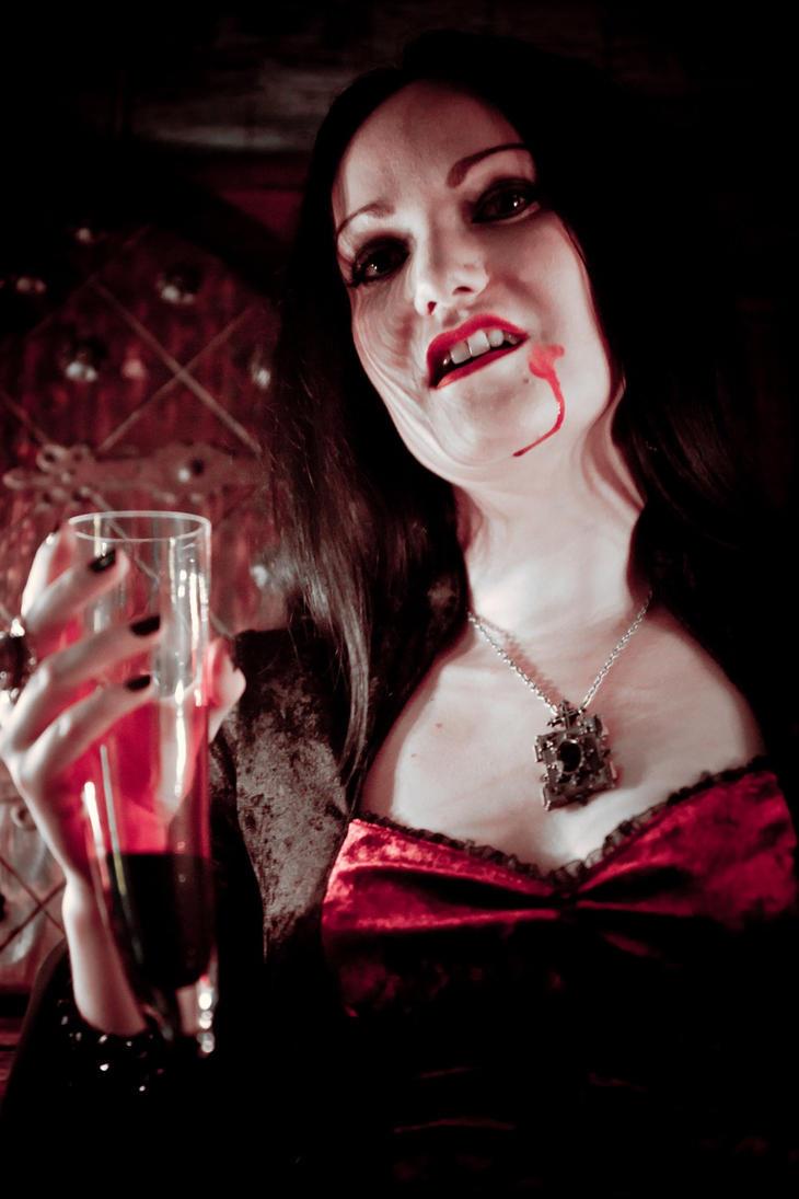 bloody vampire stock by Eve-VelvetRose