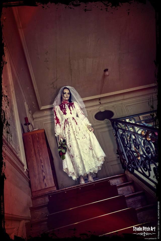 Shooting Bloody Bride by Eve-VelvetRose