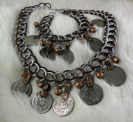 Coin and Bell Chainmail Set