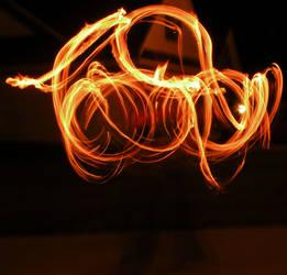 Looping Fire