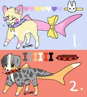 Shark Doggo Adopts 45 points!  OPEN by BubbleTeaAdoptables