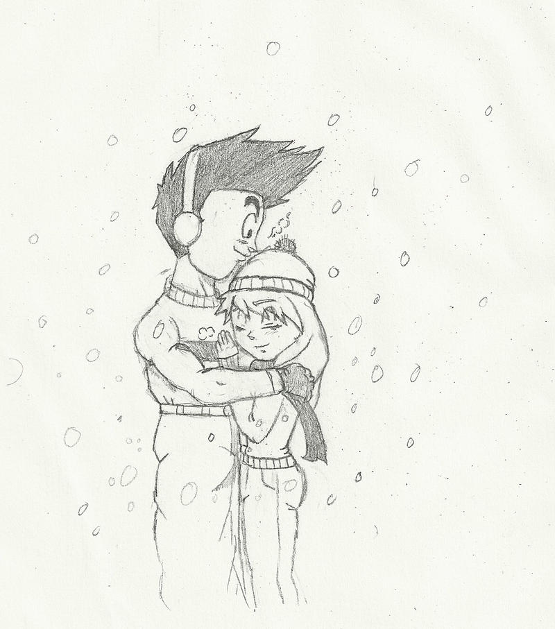 Commission: Winter Embrace by chrisolian